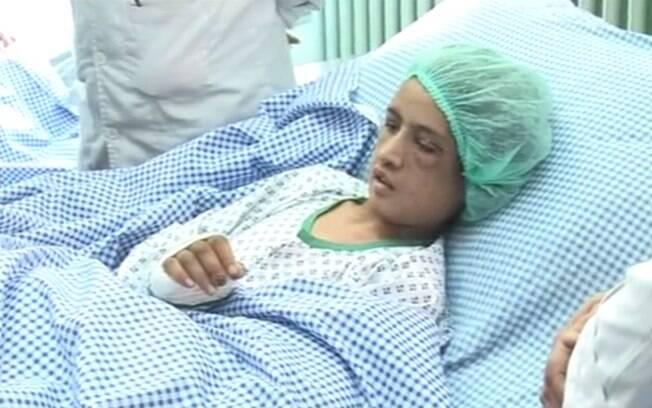 Afeganistão: em 2011, Sahar Gul, então com 15 anos, foi espancada pela família do marido após rejeitar se prostituir. Foto: Reprodução/Youtube