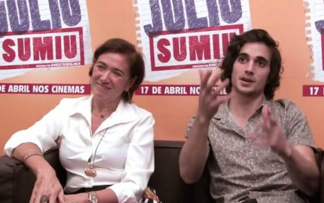 Fiuk e Lília Cabral falam sobre 'Julio Sumiu'