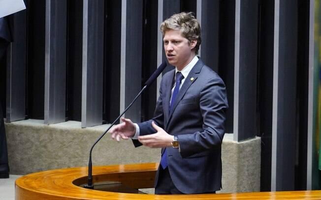 Líder do partido Novo na Câmara dos Deputados, Marcel Van Hattem (RS)