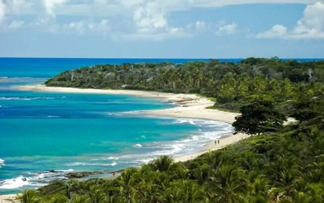 A beleza das praias de Trancoso encantam os turistas