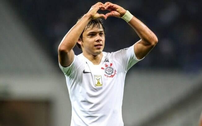 Romero, atacante do Corinthians