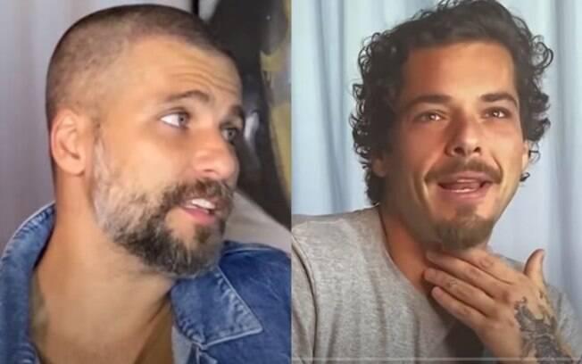 Bruno Gagliasso e Gian já brigaram