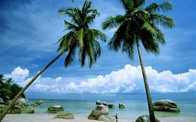 Terceira maior ilha da Tailândia é repleta de belezas naturais