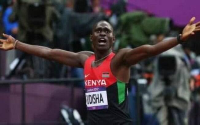 Se o Quênia decidir não ir aos jogos, David Rudisha não participará dos 800m