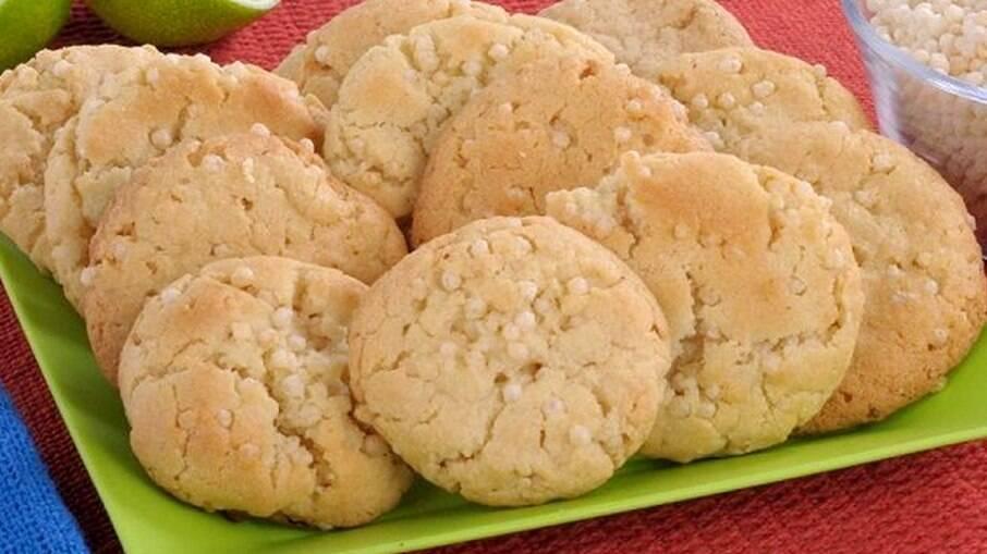 Aprenda a fazer esse delicioso biscoitinho crocante de limão