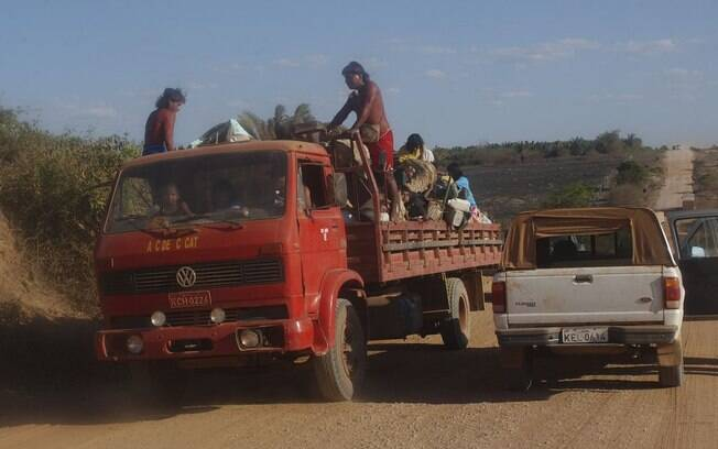 Território Indígena em Roraima