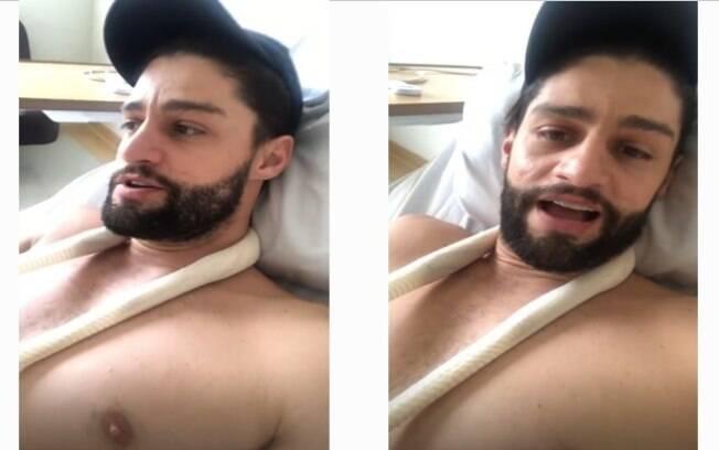 Munhoz, da dupla com Mariano, fala sobre alta do hospital