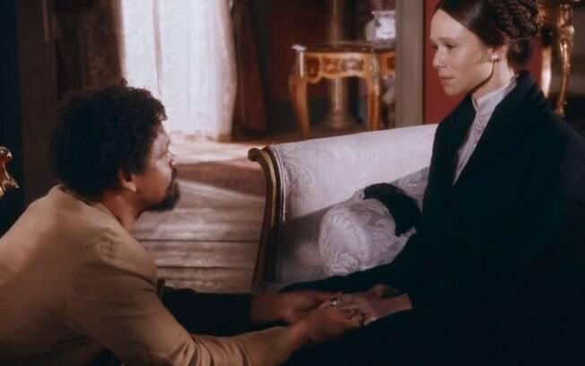Nos Tempos do Imperador: Teresa dá com a língua nos dentes, faz revelação sobre Luísa para Pilar e deixa pasma
