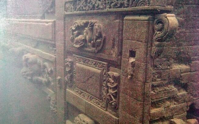 Estruturas de palácios imperiais intactos, túmulos de imperadores e sedes imperiais estão intactas. Foto: Divulgação