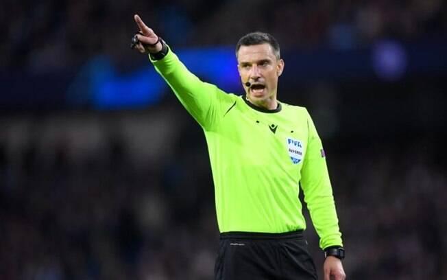 Slavko Vincic, árbitro da Champions League