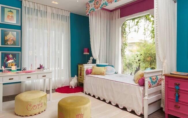 Como decorar quartos de meninas decora o ig for Karina paredes pacheco