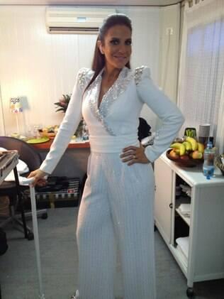 Ivete Sangalo posa nos bastidores do Rock in Rio de Lisboa