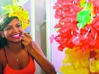 Animada.  Lorena Dutra, de Betim, vai para o terceiro ano de curtição em Abaeté, dessa vez de camarote, para curtir os ídolos sertanejos
