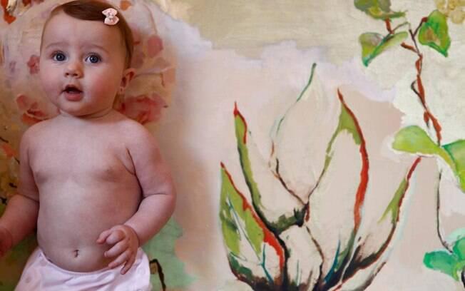 Ella Felipa completa hoje sete meses de vida