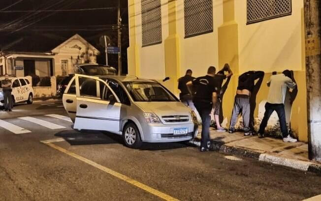 Quatro homens são presos após tentativa de furto em Jaguariúna