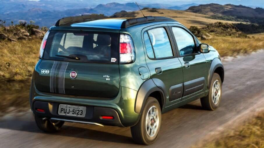 Fiat Uno Way era o aventureiro urbano da marca italiana; modelo retornou ao catálogo em 2019