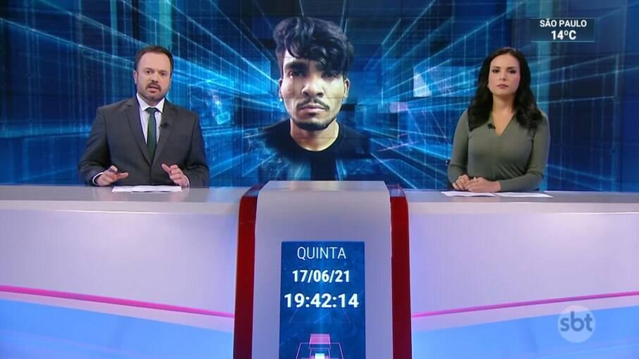 Marcelo Torres cometeu ato falho e afirmou que Lázaro Ramos trocou tiros com a polícia