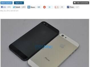 Supostas fotos do novo iPhone mostram parte traseira em metal