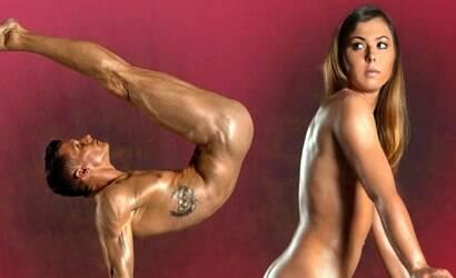 Atletas olímpicos da Alemanha posam nus para jornal