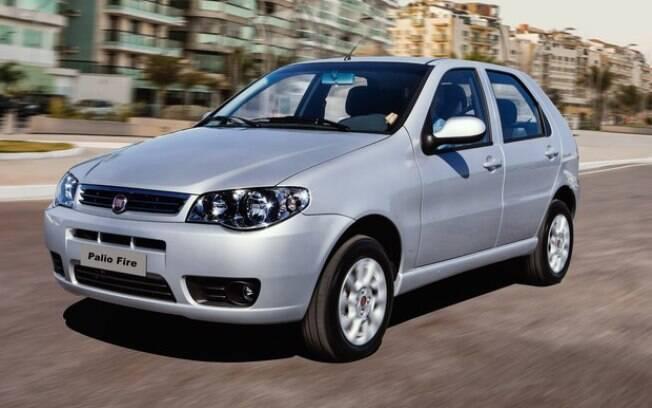 O Fiat Palio foi o mais procurado entre os seminovos do 1º trimestre do ano