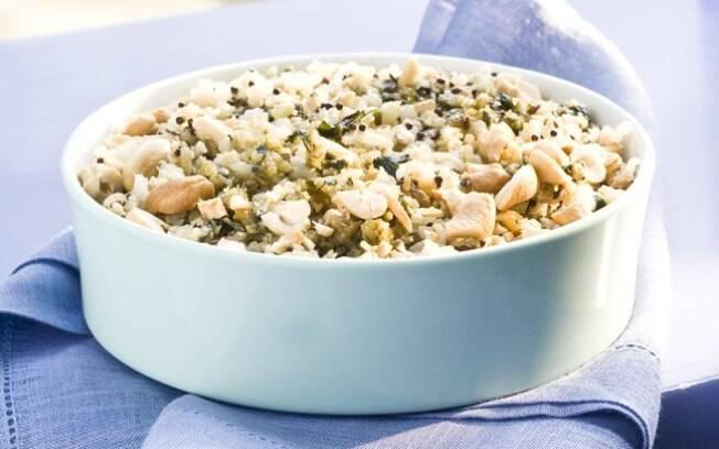 Deixe o arroz branco de lado e aposte em outras receitas