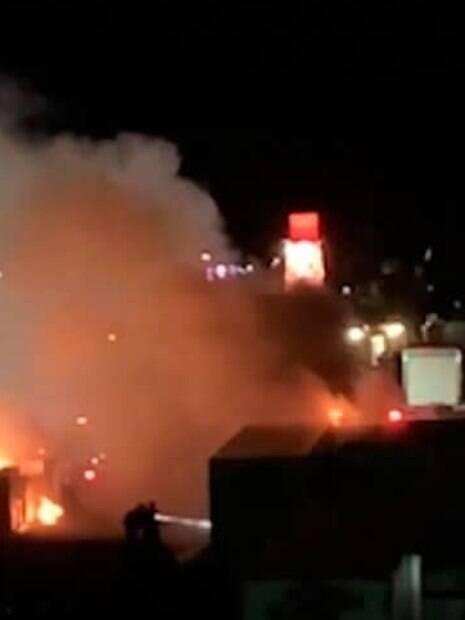 Incêndio no Coachella