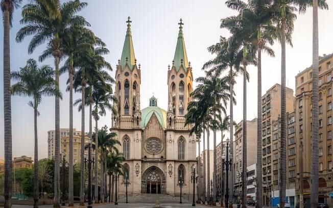 A Catedral da Sé foi apontada como um dos melhores lugares para dar um fora no crush