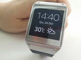 Galaxy Gear é o relógio inteligente da Samsung