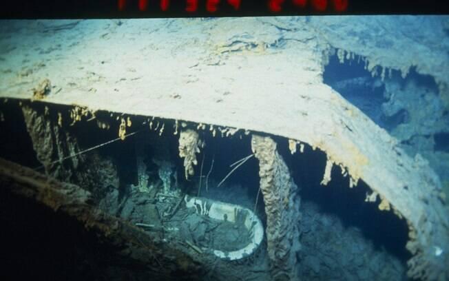 banheira do Titanic