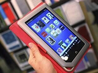 Nook Tablet, o tablet da Barnes & Noble