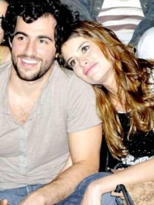 Felipe Simão e Aline Moraes: namoro chega ao fim