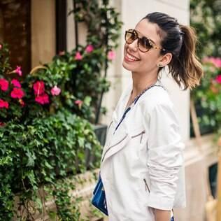 A blogueira Camila Coutinho tem uma nécessaire de viagem sempre pronta