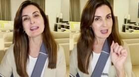 Fátima Bernardes atualiza quadro de saúde após cirurgia