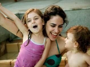 Só depois de ter filhos Mariana percebeu que estava agindo como a mãe