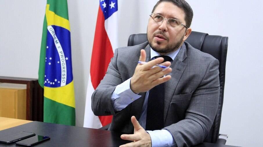 Vice-governador do Amazonas, Carlos Almeida