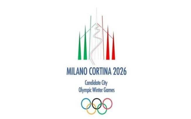 Logotipo da candidatura de Milão e Cortina D'Ampezzo para receber os Jogos de Inverno de 2026