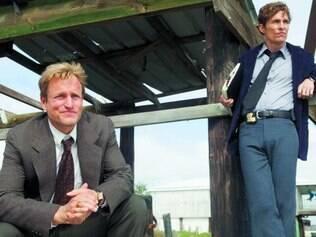 Bombando. Martin e Cohle vêm conquistando uma legião de fãs com o mistério por trás de 'True Detective'