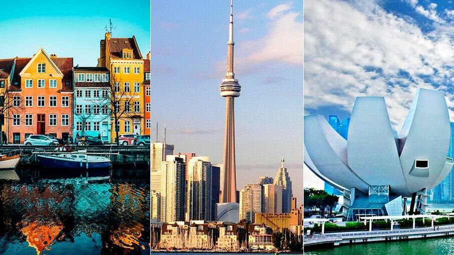Copenhagen, Toronto e Cingapura são as três cidades mais seguras do mundo