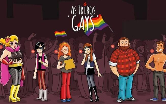 O infográfico das tribos gays foi sucesso