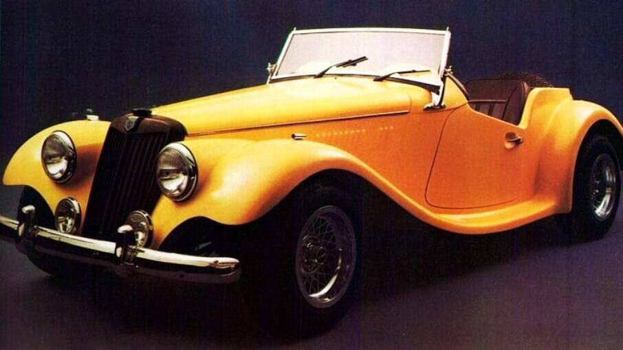 O Chevette cedia o motor 1.6 de 86 cv ao Avallone TF, uma réplica do clássico da inglesa MG