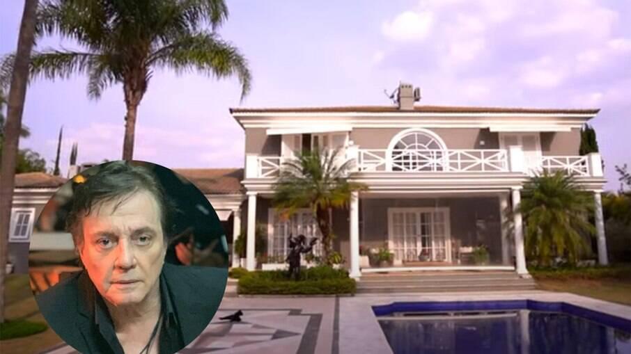 Fábio Jr coloca mansão à venda