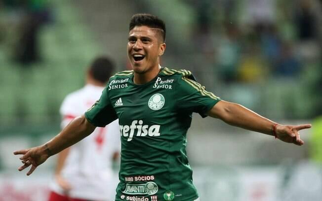 Cristaldo, ex-atacante do Palmeiras