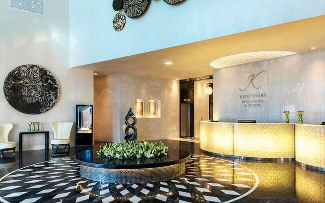O terceiro nome na lista de hotéis no Catar é o Meliá Doha, que é um hotel de cinco estrelas, próximo ao Corniche