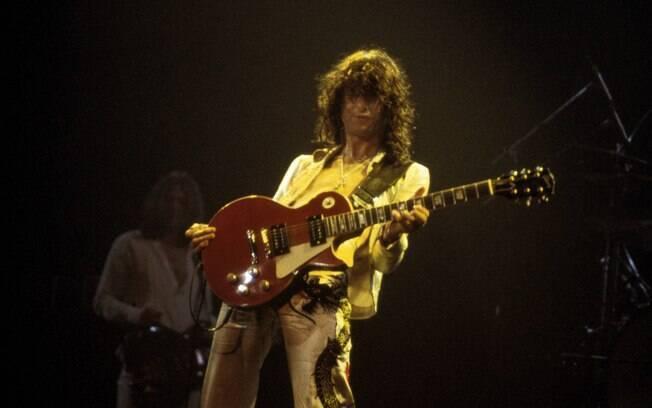 Jimmy Page comemorou o título da Liga dos  Campeões nesta temporada. O guitarrista do Led  Zeppelin é torcedor do Chelsea