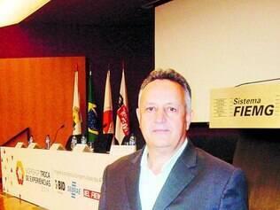 Liderança. Roberto Pinto, fundador da Alarmes Santa Rita, também é presidente do Sindvel
