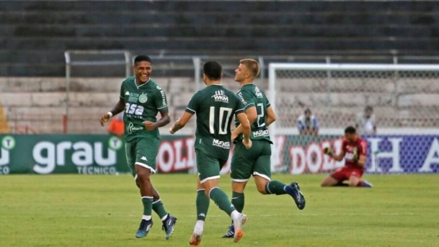 Rodrigo Andrade comemora fase do Guarani