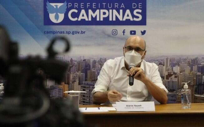 AO VIVO: Dário Saadi traz novas informações sobre pandemia em Campinas