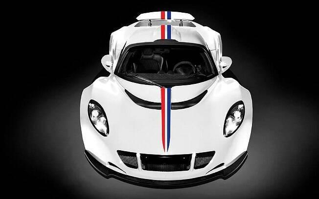 Venom GT terá uma versão limitada a três unidades com as cores da bandeira dos Estados Unidos