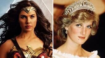 Gal Gadot diz ter se inspirado na Princesa Diana para heroína