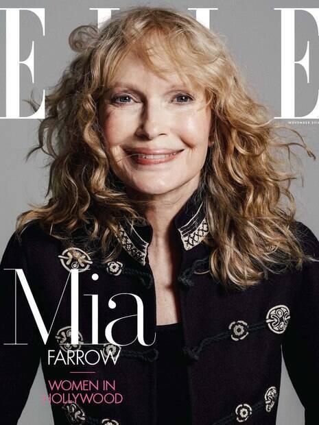 Em entrevista a revista ELLE, Mia Farrow fala sobre os abusos que sofreu quando adolescente, relação com Woody Allen e Roman Polanski